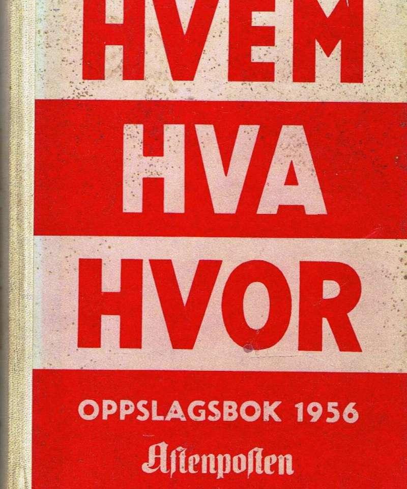 Hvem hva hvor 1956