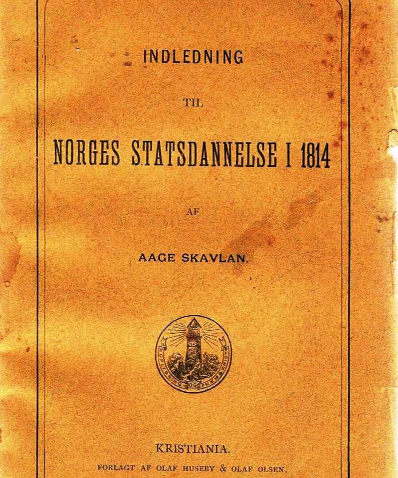 Norges Statsdannelse i 1814