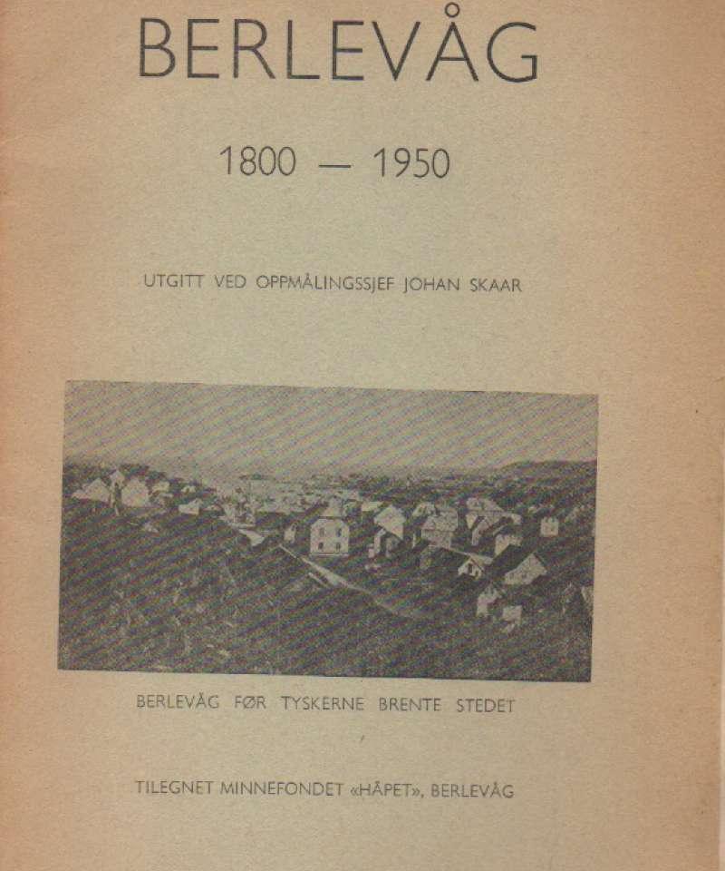 Berlevåg 1800-1950