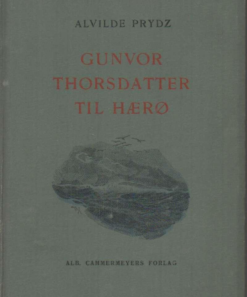 Gunvor Thorsdatter til Hærø