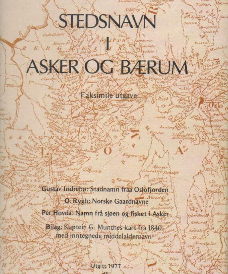 Stedsnavn i Asker og Bærum