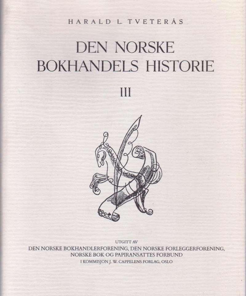 Den norske Bokhandels historie III