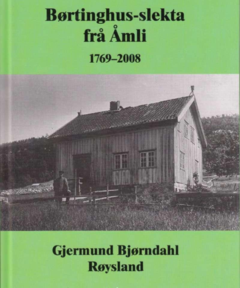 Børtinghus-slekta frå Åmli