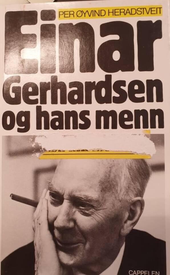 Einar Gerhardsen og hans menn