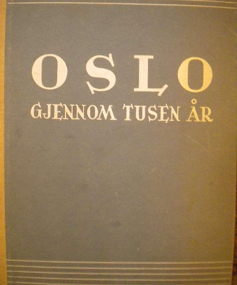 Oslo gjennom tusen år