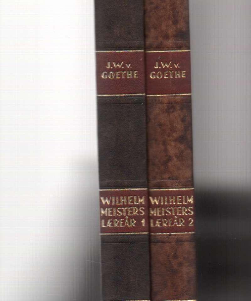 Wilhelm Meisters læreår I og II