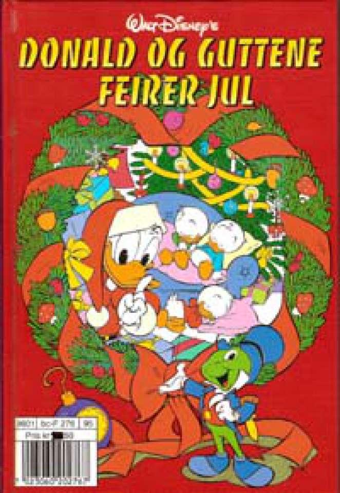 Donald og guttene feirer jul