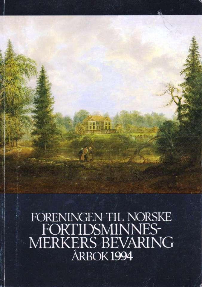 FORENINGEN TIL NORSKE FORTIDSMINNESMERKERS BEVARING.