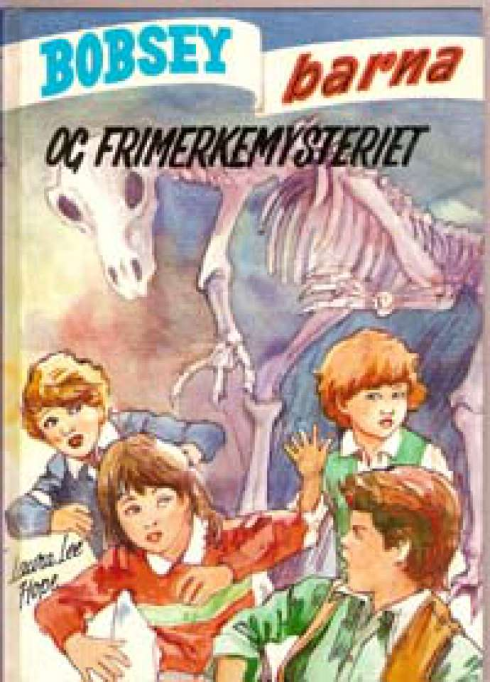 Bobsey-Barna og frimerkemysteriet