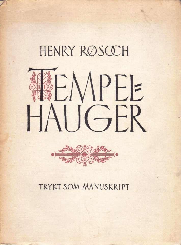 Tempelhauger