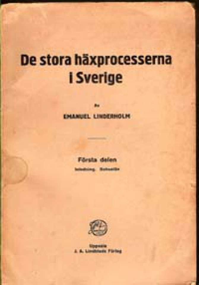 De stora häxprocesserna i Sverige