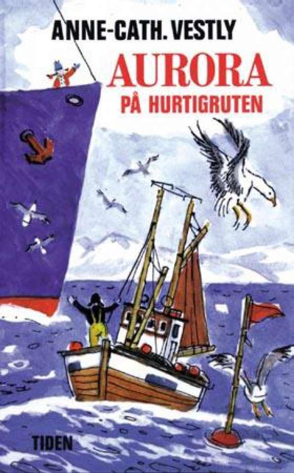 Aurora på Hurtigruten
