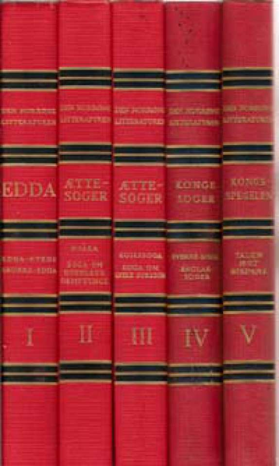 Den Norrøne litteraturen - Bind I-V