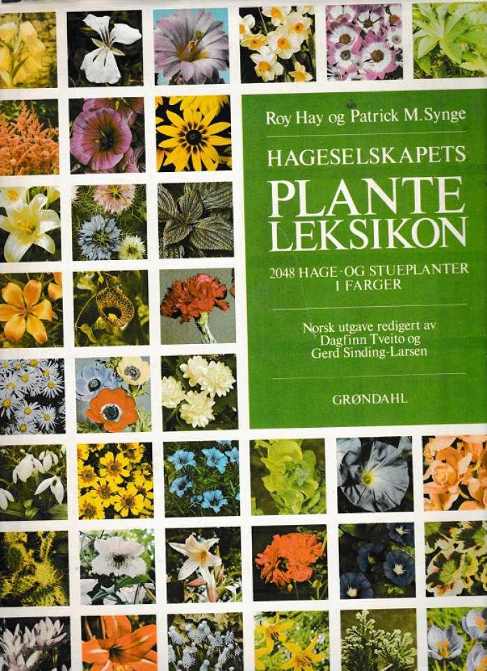 Hageselskapets planteleksikon i farger