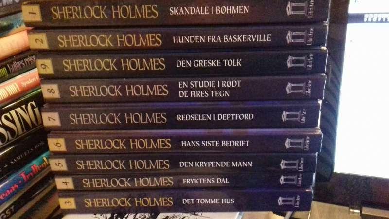 Sherlock Holmes 1-10