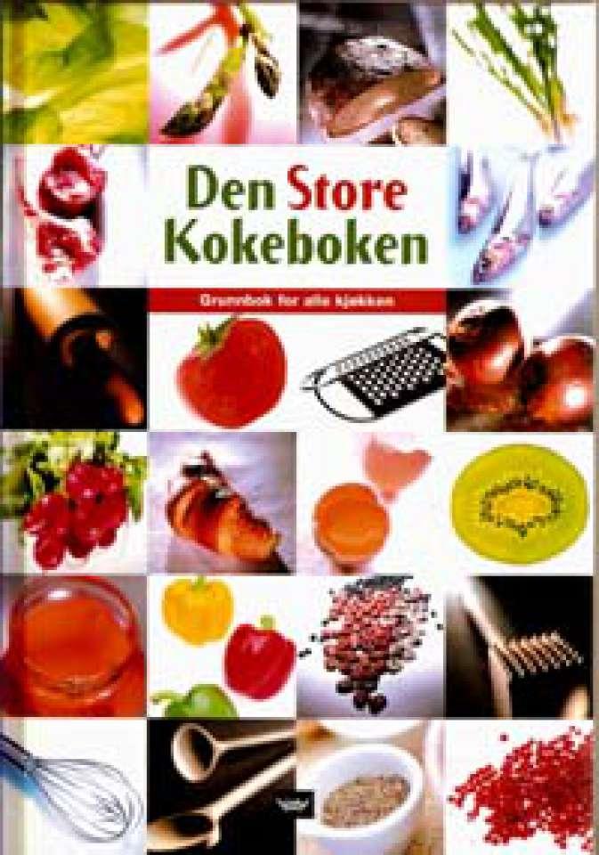 Den Store Kokeboken - Grunnbok for alle kjøkken