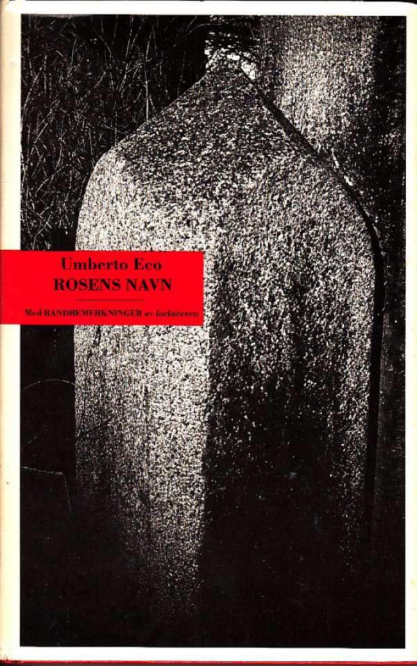 Rosens navn, bind 1-2