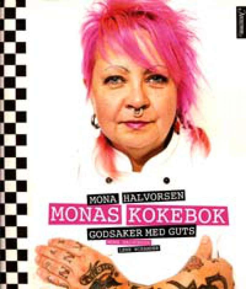 Monas kokebok - Godsaker med guts - Signert!