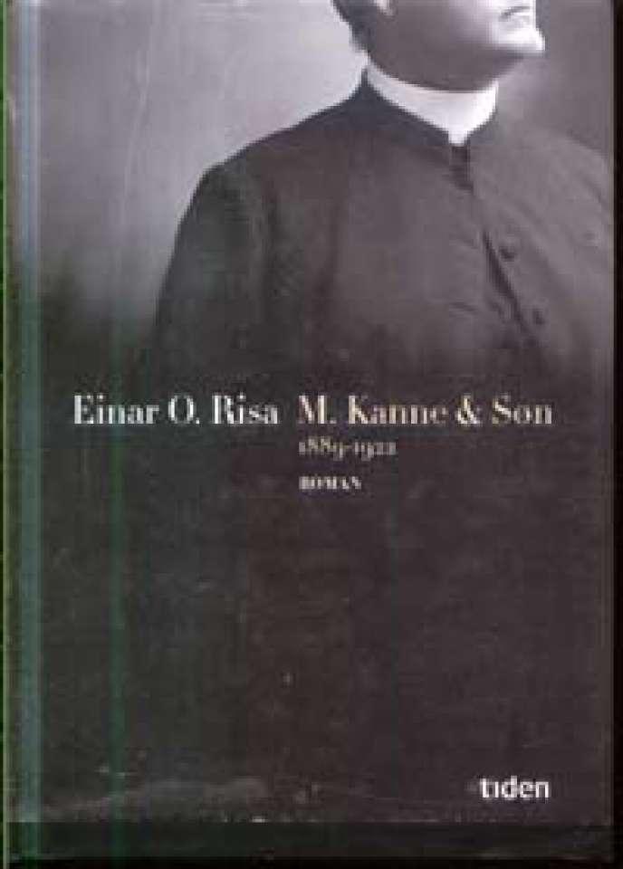 M. Kanne & Søn - 1889-1922