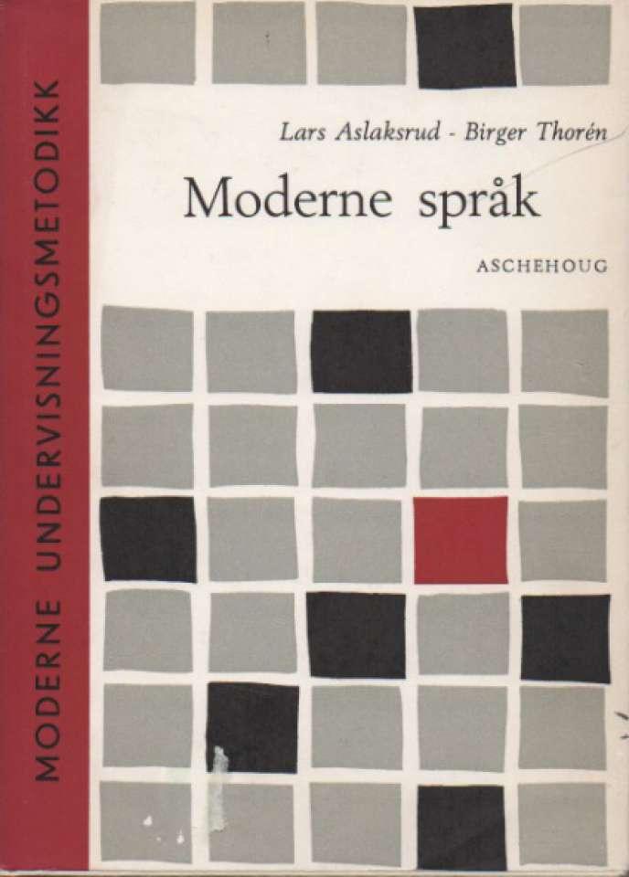 Moderne språk