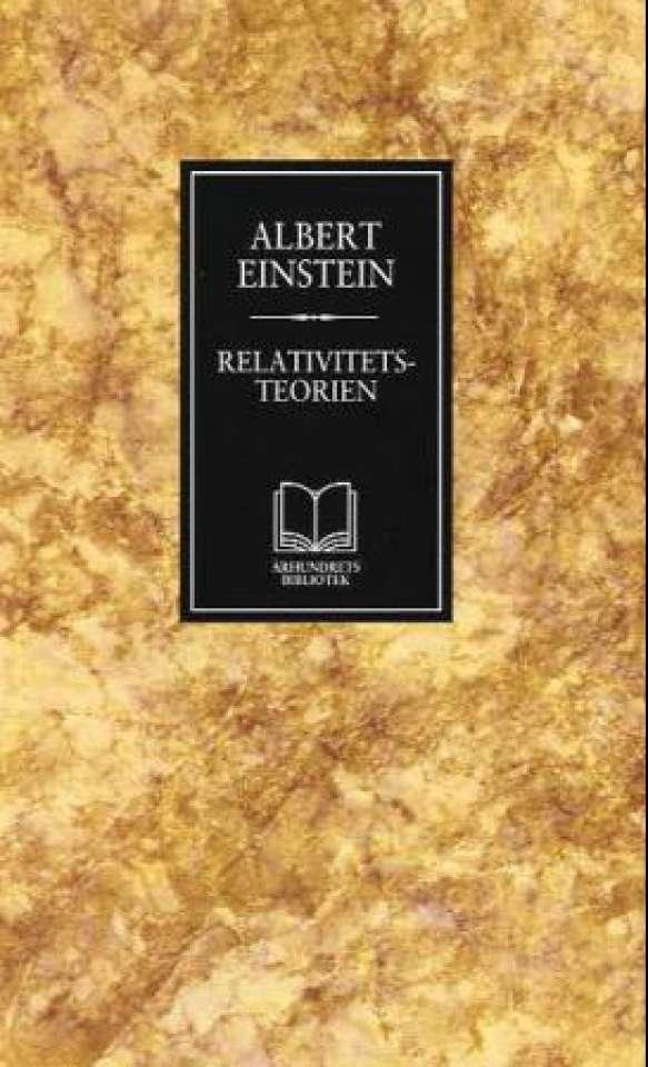 Relativitetsteorien, en populærfremstilling - og selvbiografiske notater