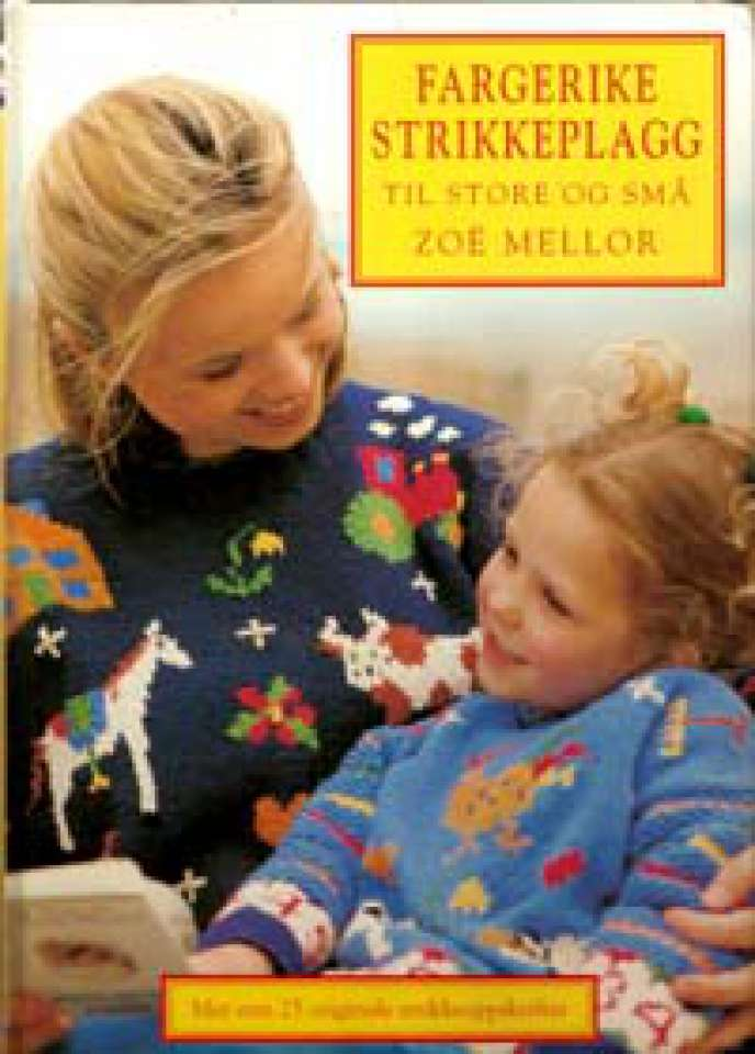 Fargerike strikkeplagg til store og små