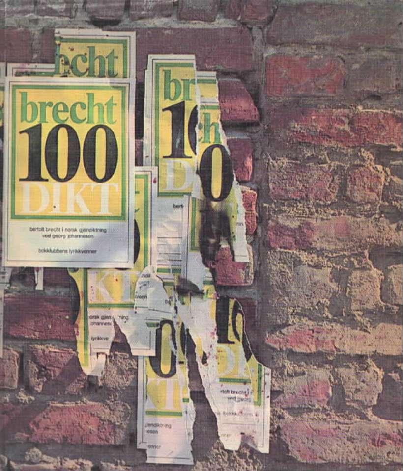 Brecht – 100 dikt
