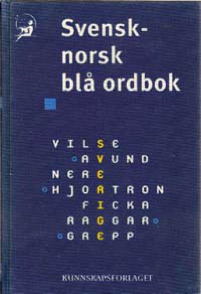 Svensk-norsk blå ordbok