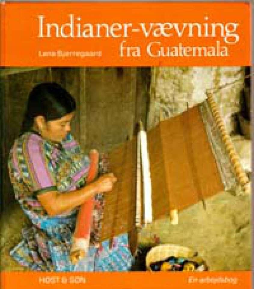 Indianer-vævning fra Guatemala - En arbeidsbog