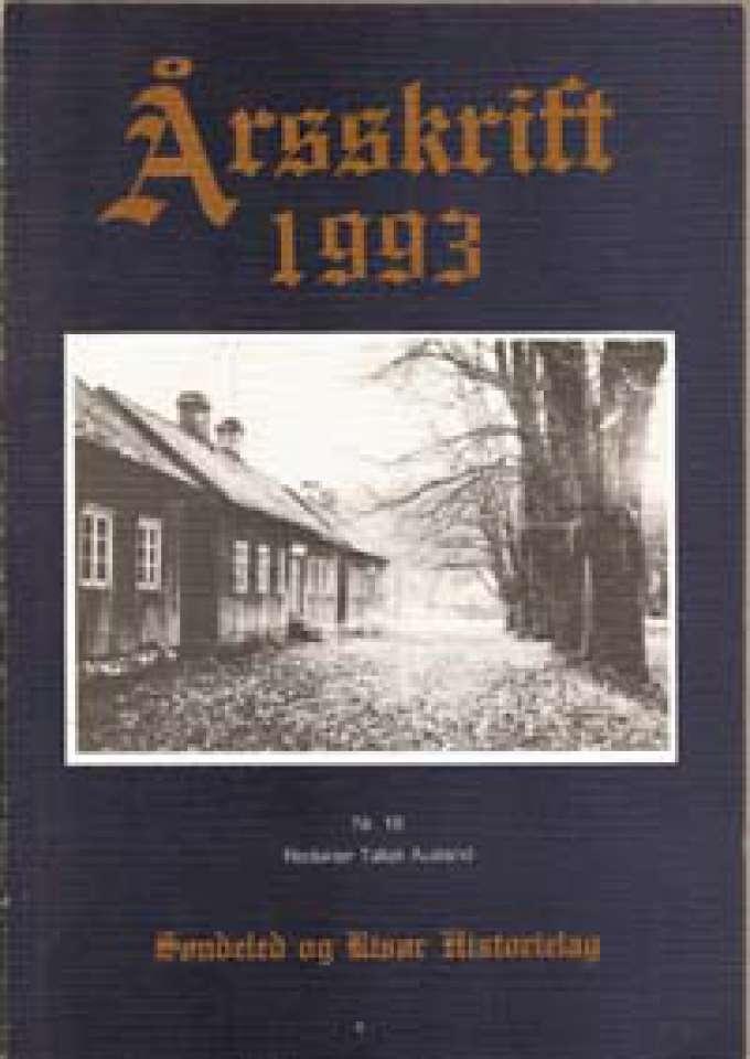Årsskrift 1993 - Søndeled og Risør Historielag Nr. 18