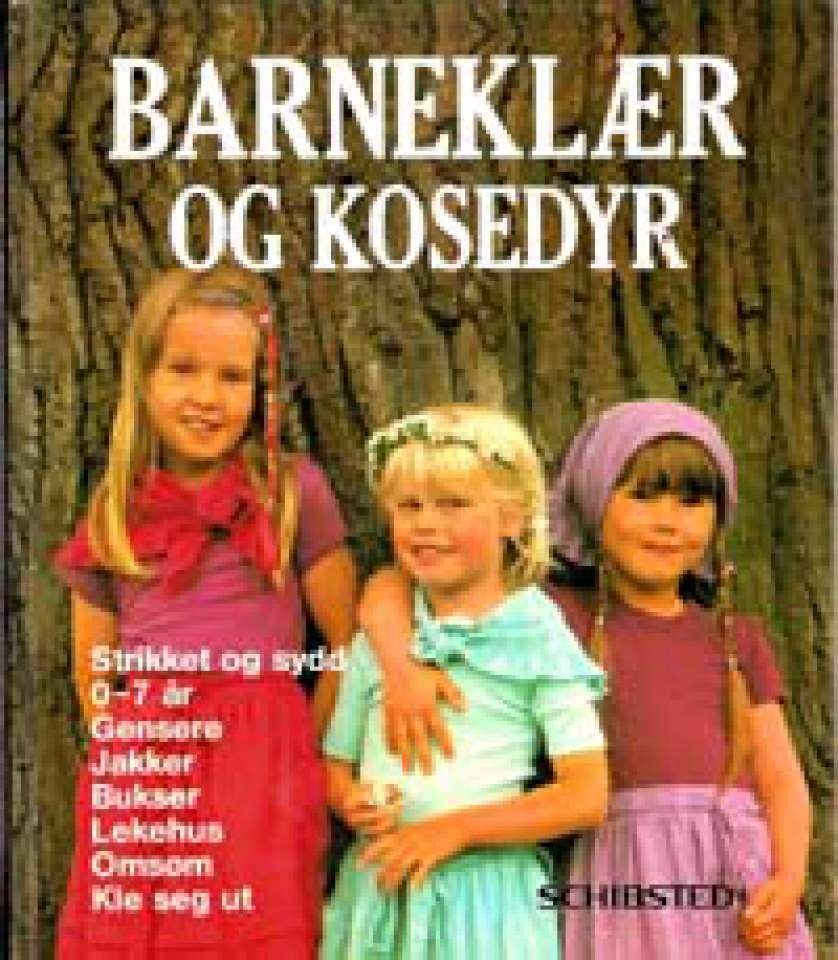 Barneklær og kosedyr - 0-7 år