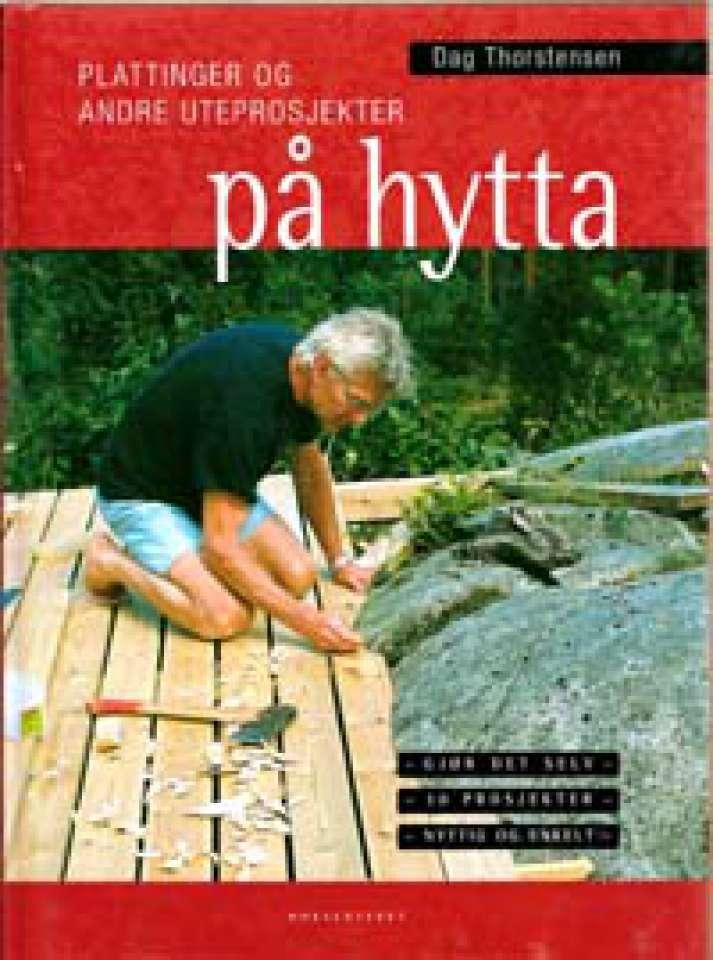 Plattinger og andre uteprosjekter på hytta -