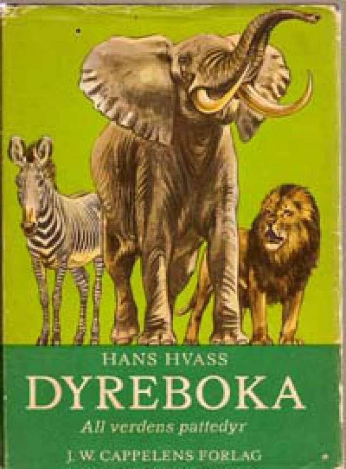 Dyreboka - All verdens pattedyr i tekst og bilder