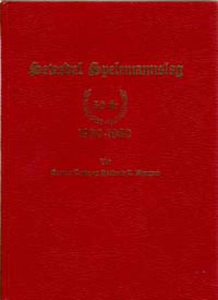 Setesdal Spelemannslag 50 år - 1930-1980