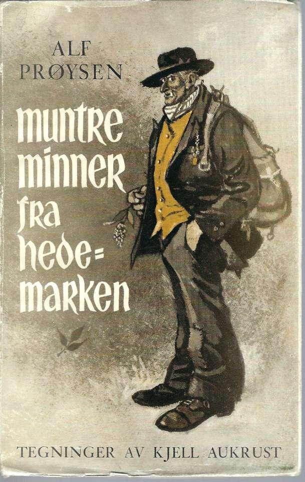 Muntre minner fra Hedemarken - Viser på ei fjøl