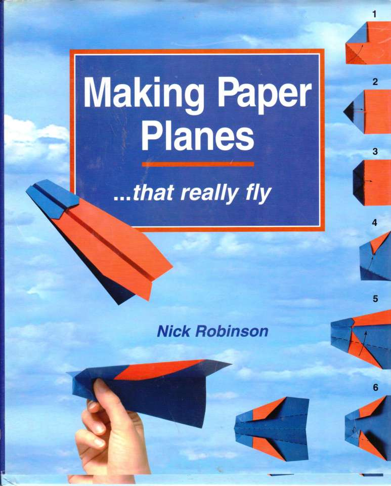 Making Paper Planes