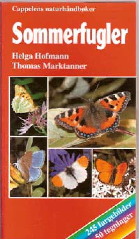 Sommerfugler - Cappelens naturhåndbøker