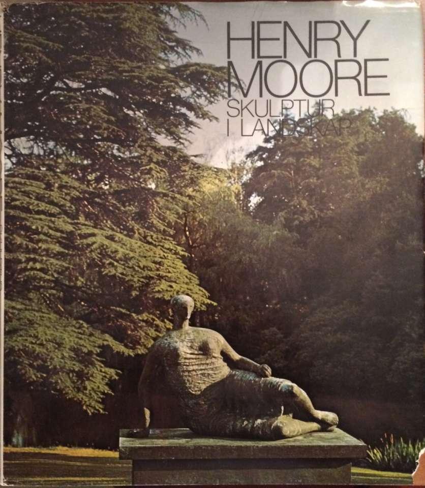 Henry Moore Skulptur i Landskap