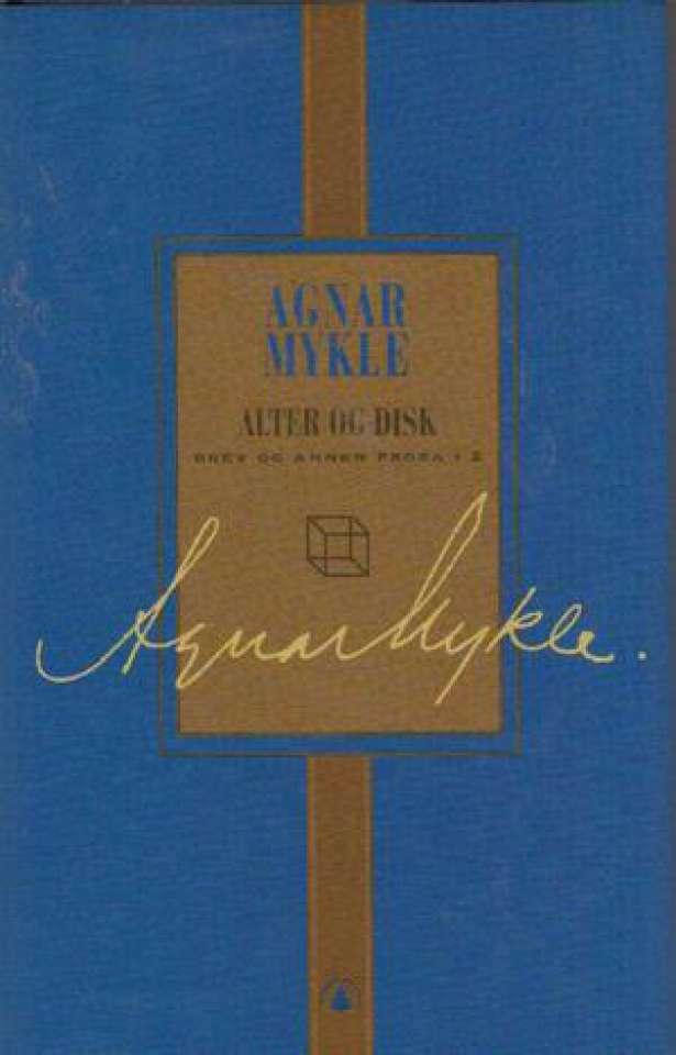 Alter og Disk Brev og annen prosa.2