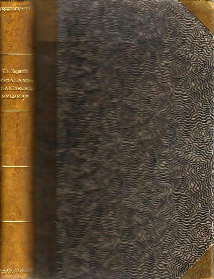 Rogalands Landbruksselskap (Stavanger Amts Landhusholdningsselskap) gjennom 150 år 1776-1926
