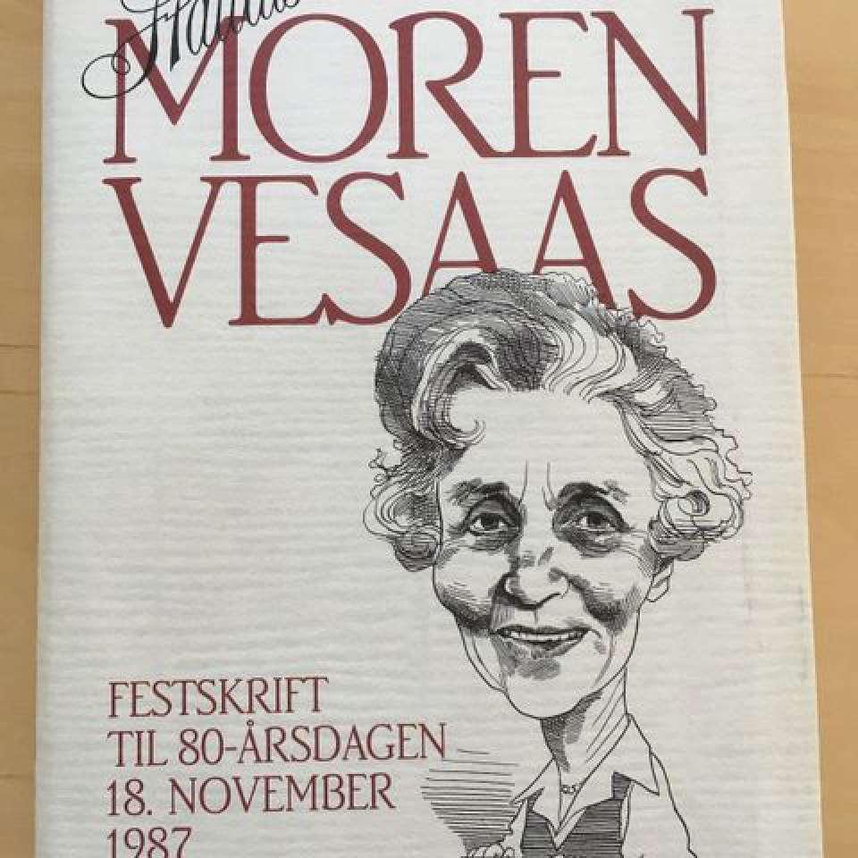 Halldis Moren Vesaas Festskrift til 80-årsdagen 18. november 1987.