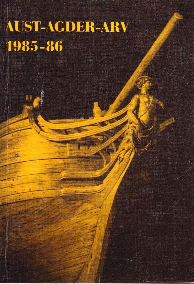 Aust-Agder Arv 1985-86