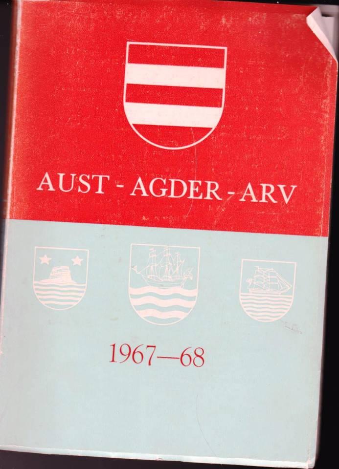 Aust-Agder Arv 1967-68