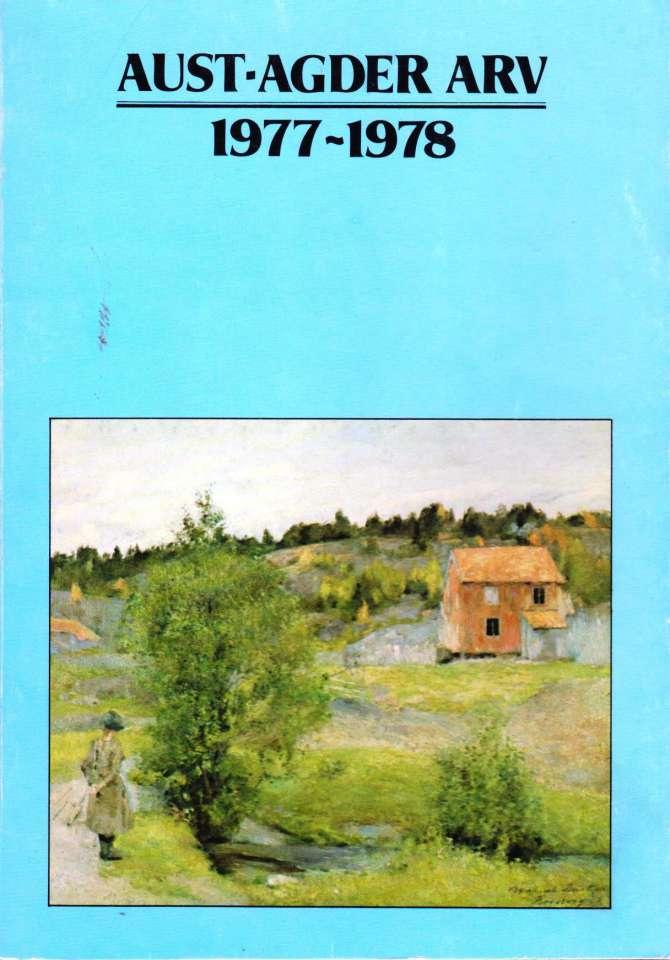 Aust-Agder Arv 1977-1978