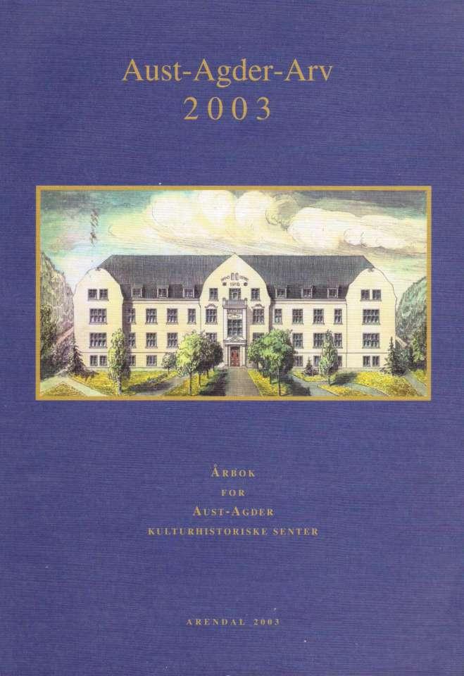 Aust-Agder Arv 2003