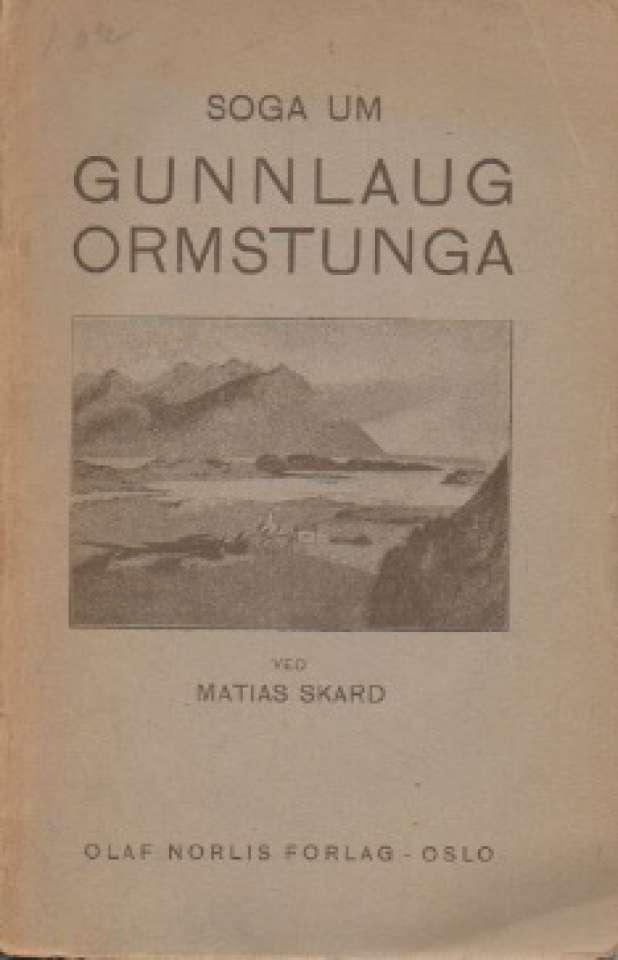 Soga um Gunnlaug Ormstunga