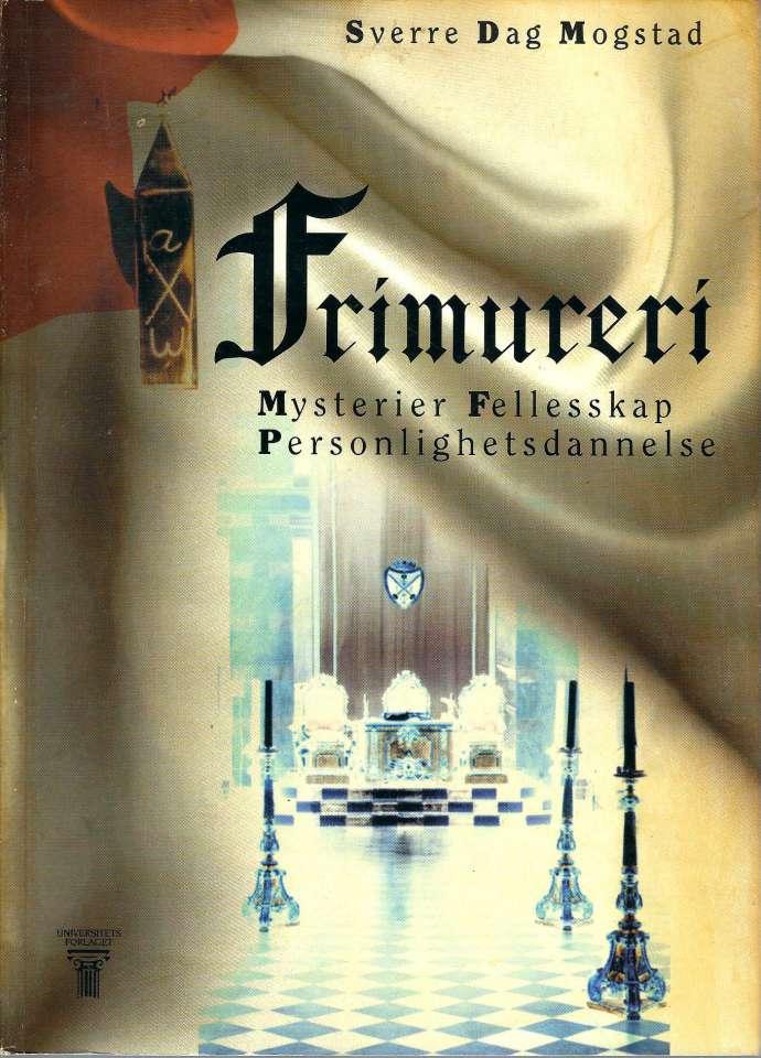 Frimureri - Mysterier Felleskap Personlighetsdannelse