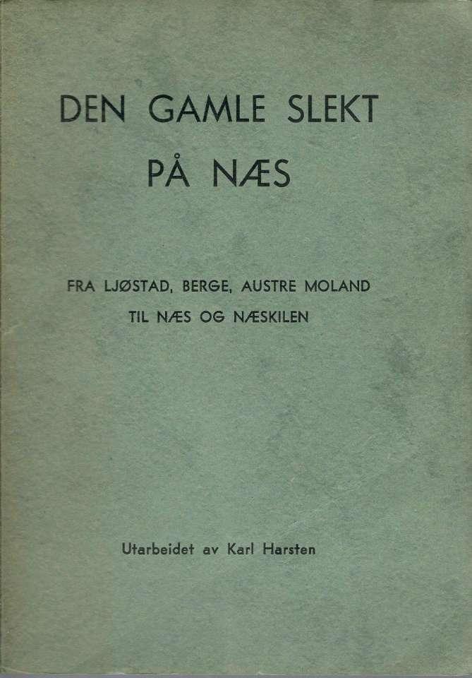 Den gamle slekt på Næs - Fra Ljøstad, Berge, Austr Moland til Næs og Næskilen