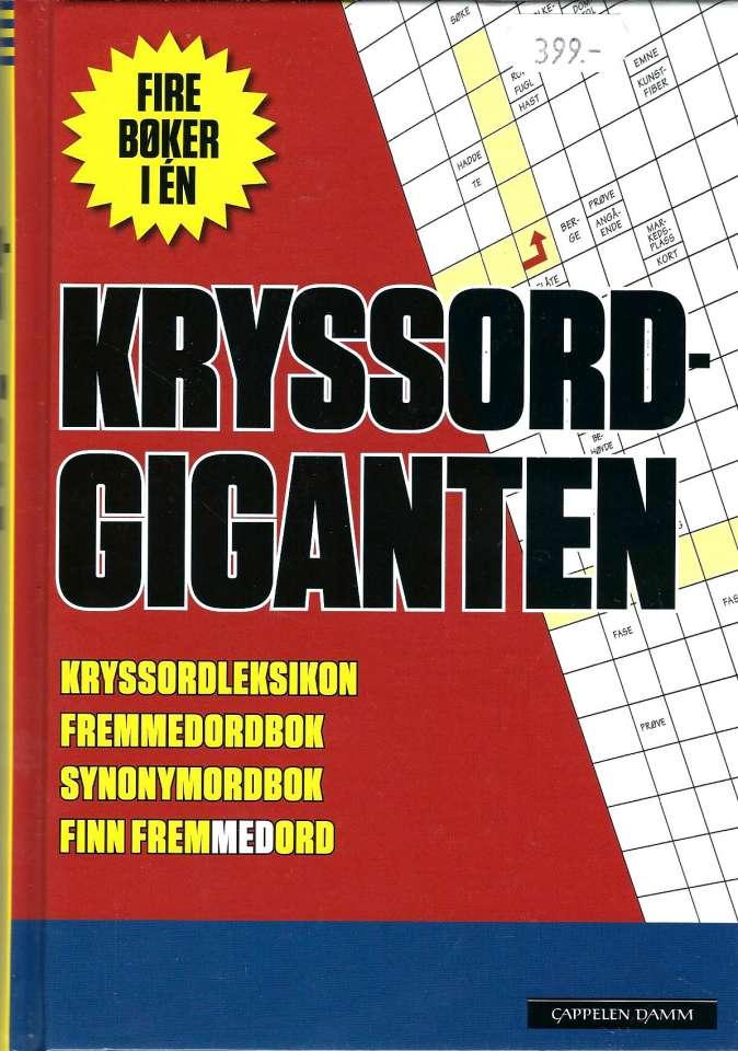 Kryssordgiganten  - Kryssordleksikon - Fremmedordbok - Synonymordbok - Finn fremmedord