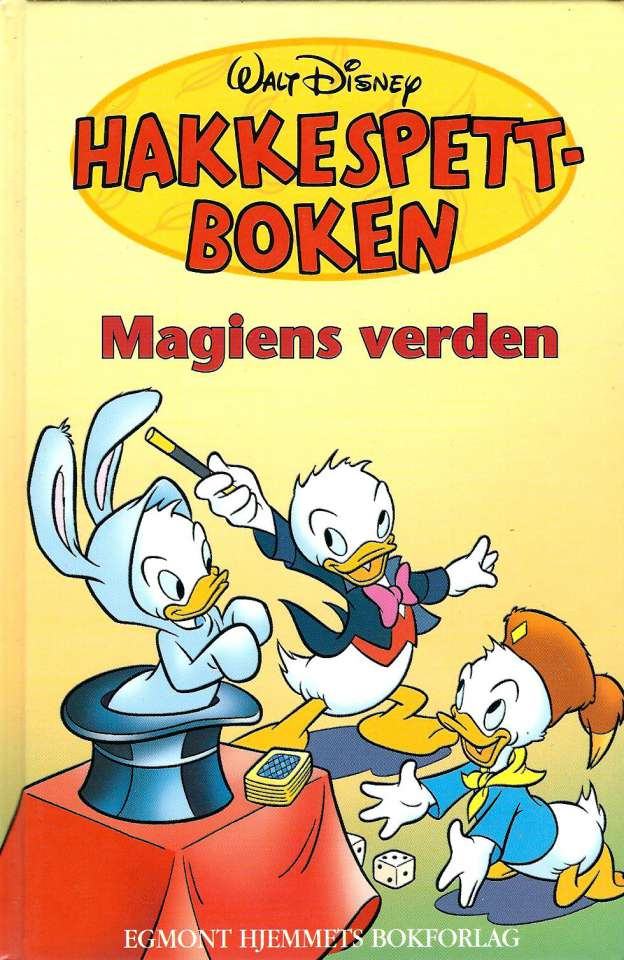 Hakkespettboken - Magiens verden